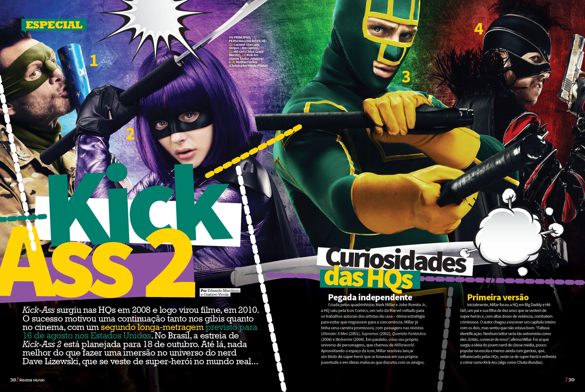Revista Mundo dos Super-Heróis / Editora Europa