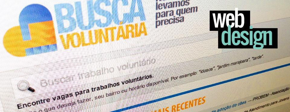 Site Busca Voluntária
