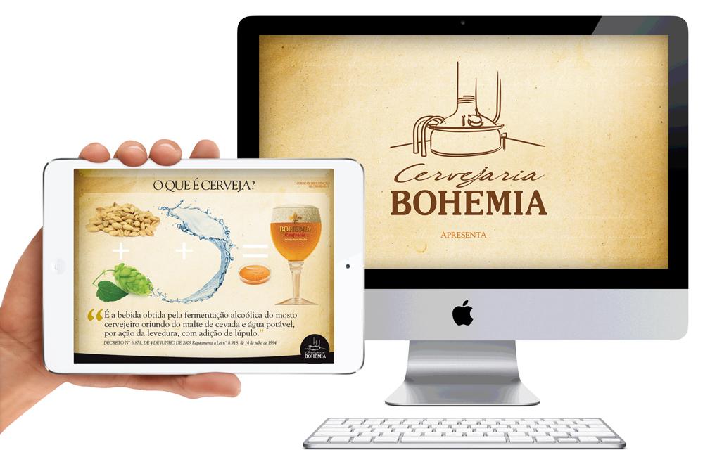 Apresentação para Curso da Cervejaria Bohemia / WTrends